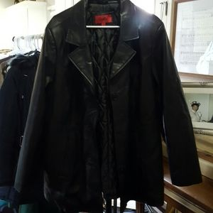 *FINAL SALE* EXCELLED GENUINE LEATHER JACKET-1X